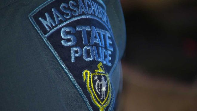 A Massachusetts State Police patch.
