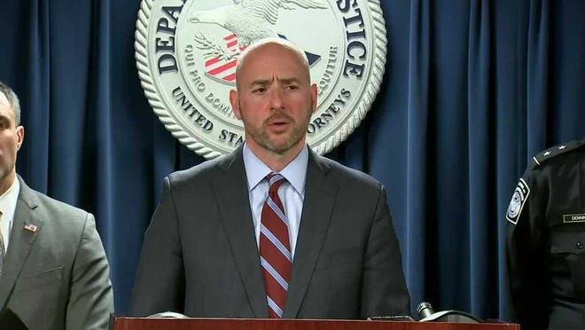 U.S. Attorney for Massachusetts Andrew Lelling, who was appointed by former President Trump, said Wednesday that he gave President Joe Biden his resignation notice earlier this week and will resign from his office at the end of February. [File photo]