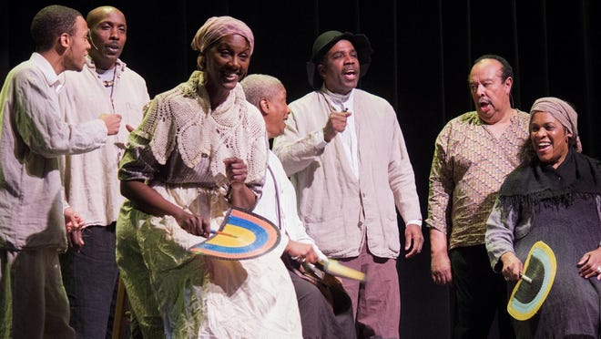 The Princely Players presents an evocative program on the enslavement and liberation of African-Americans as part of the USC Aiken Cultural Series December 12, 2019 at the Etherredge Center.