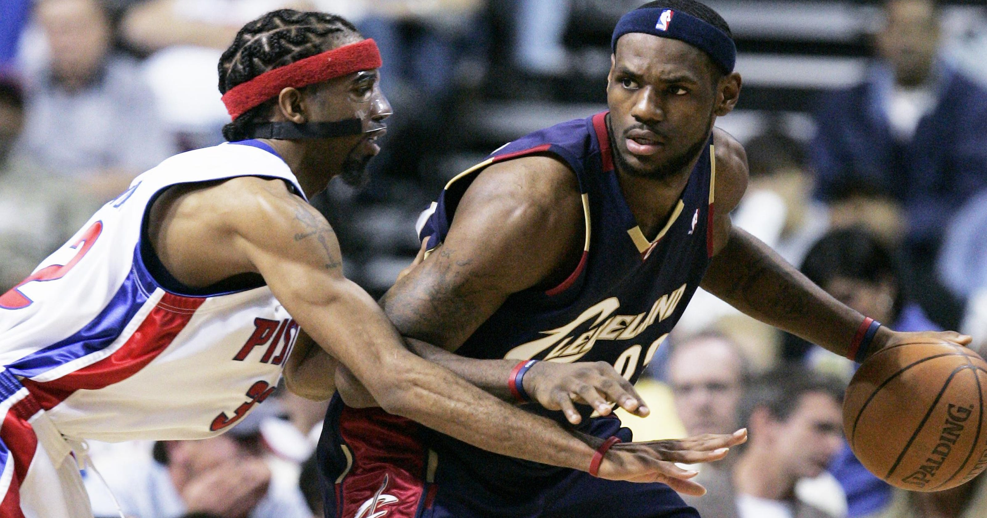 best service fda7b 097ca LeBron James: Old Pistons sharpened my competitive edge