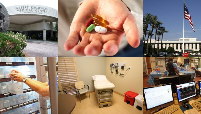ProPublica found that roughly 75 percent of doctors primarily affiliated with Desert Regional and Eisenhower hospitals who accept Medicare took payments from outside companies in 2014.