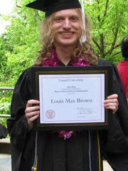 Louis Max Brown, graduated summa cum laude from Cornell