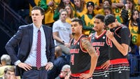 """Interim Louisville coach David Padgett told former Cards who played on the 2013 title-winning team that Tuesday's ruling """"doesn't change what you did."""""""