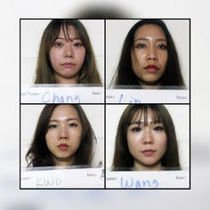 Four Taiwan women accused of illegally working as hostesses in Guam