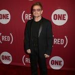 Bono en el 10mo aniversario de (RED) en el Carnegie Hall, el 1ro. de diciembre, en Nueva York.