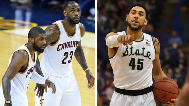 Former MSU star Denzel Valentine might be just the role player the Cavs need to get past the free-flowing and gifted Warriors.