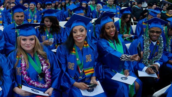 Oxnard College graduation, 2016.