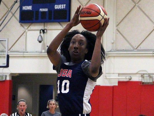 Aquira DeCosta leads St. Mary's (Photo: USA Basketball)