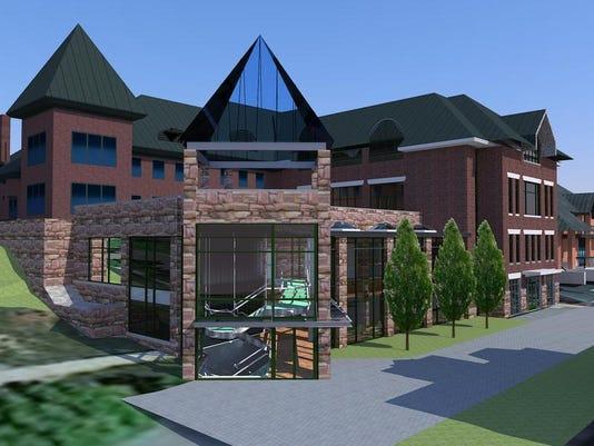 -Champlain College Media Ctr Entry Tower.jpg_20140325.jpg