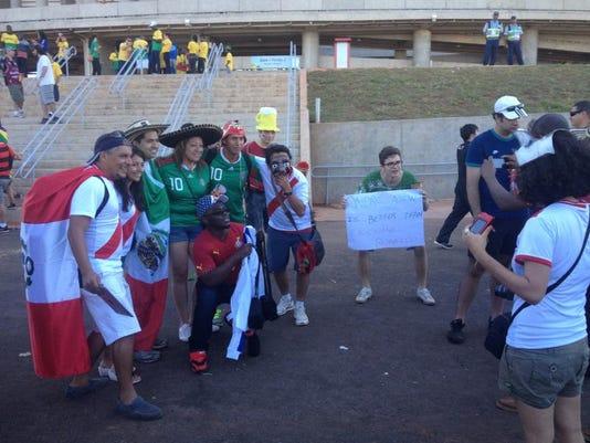 Fans outside Portugal-Ghana.JPG