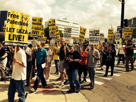 DFP Gaza Protest.JPG