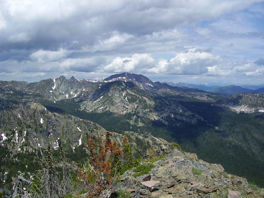 The Rattlesnake Wilderness Area north of Missoula is almost 33,000 acres in size.
