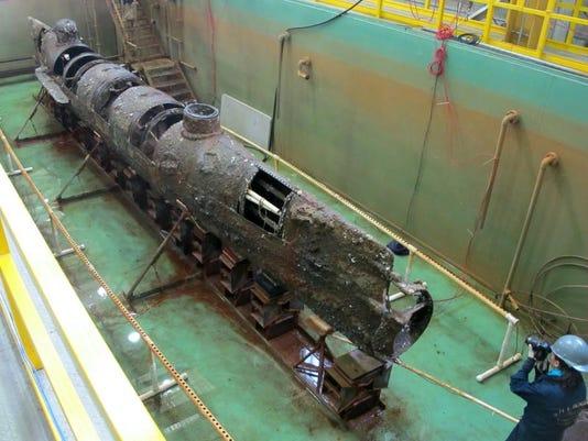 Confederate Submarine