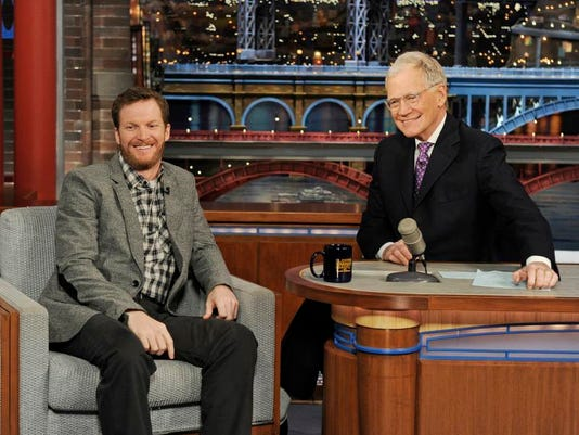 Late Show Dale Earnhardt, Jr.