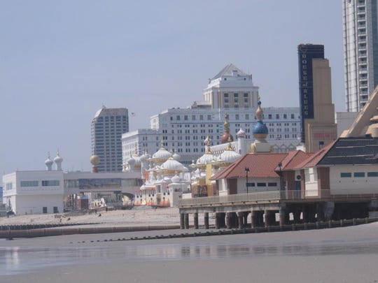 This April 8, 2013 photo shows the Atlantic City N.J. beachfront.