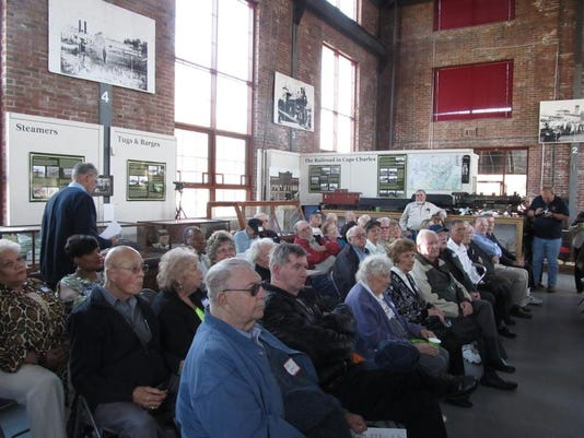 4.  VFC Reunion attendees listen to Ron West's presentation at the Cape Char.JPG