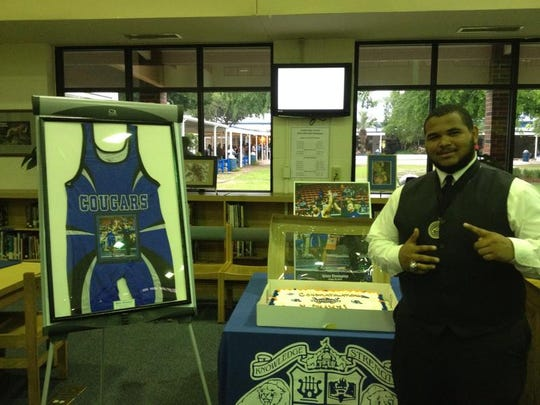 MaShawn Knight is believed to be the first Godby wrestler to earn a college scholarship.