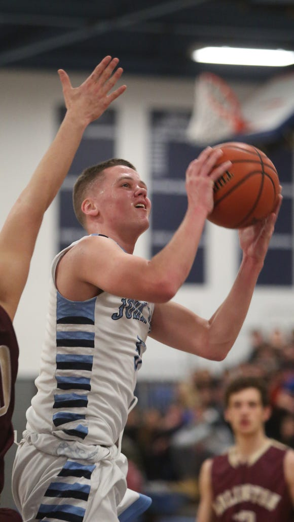 Aidan Hilderbrand, pictured here when he played for John Jay-East Fishkill last season, figures to have an immediate impact at Iona Prep this season.