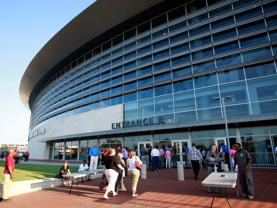 Intrust Bank Arena in Wichita, Kan., was filled to capacity for a Get Motivated  Business Seminar in 2011.