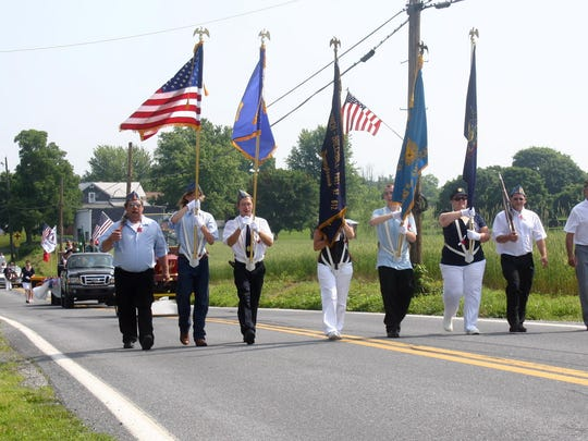 A scene from St. Thomas'  2011 Memorial Day Parade.