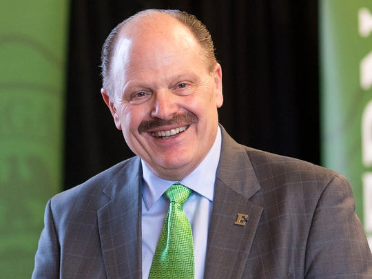 James Smith, President, Eastern Michigan University