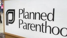 A Planned Parenthood sign in Indiana
