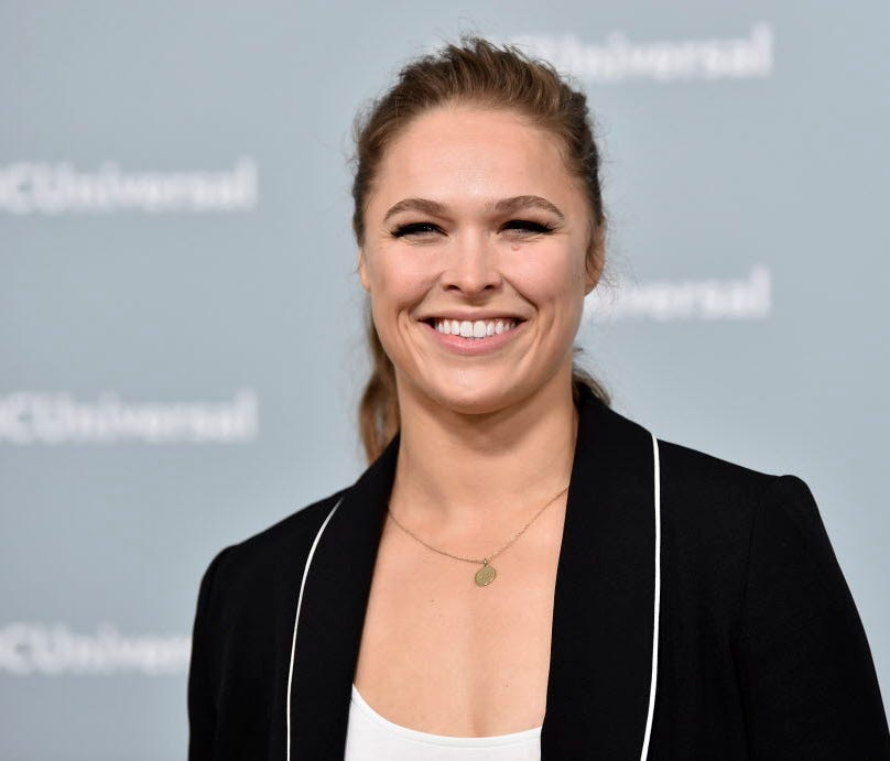 Ronda Rousey will be inducted into the UFC Hall of Fame.