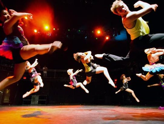 These high flying dancers will be among the many contestants