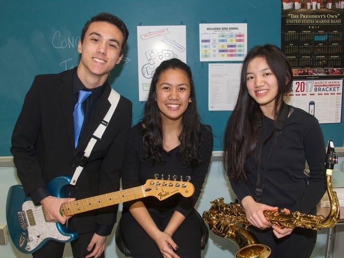Ryan, Drew, Elizabeth. Millburn High School held its