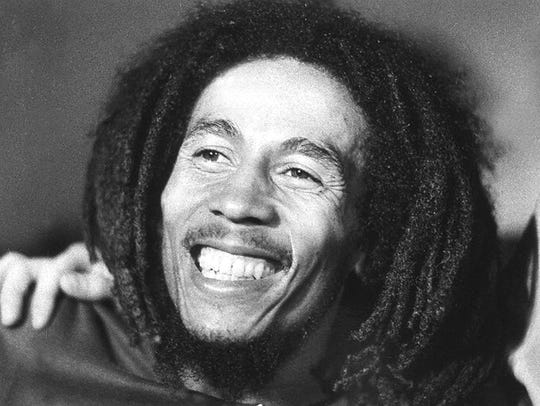Bob Marley died of cancer with no will in place.