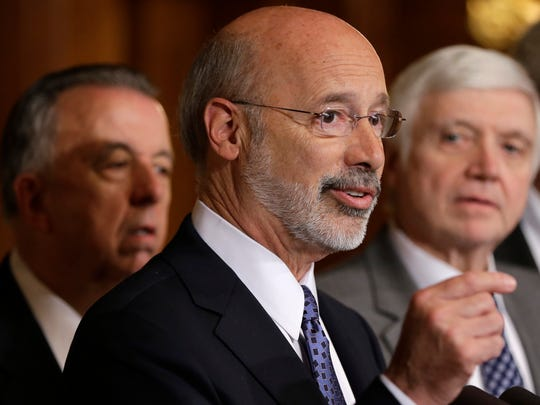 Gov. Tom Wolf is seeking re-election in 2018.