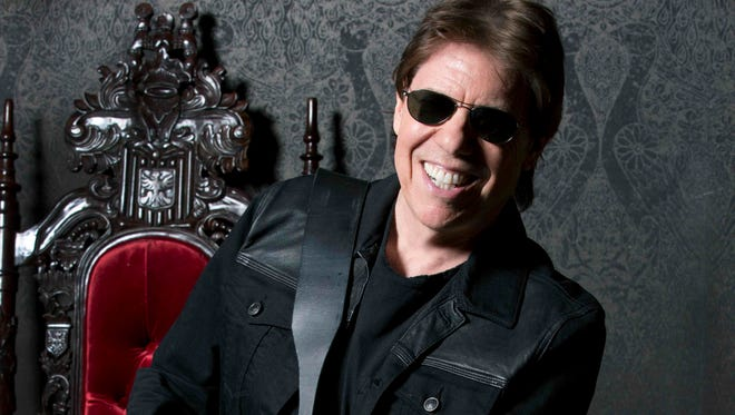 """Rock 'n' roll never sleeps, it just passes out,"" says George Thorogood. He'll perform with his band, The Destroyers, March 6."