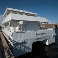 Pensacola Bay ferries are in the water and undergoing tests, training runs