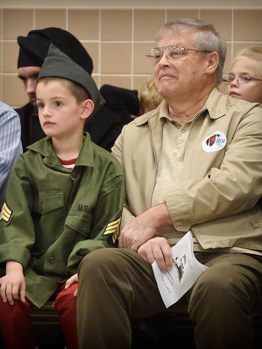 1- Jackson Elementary School Celebrates Veterans