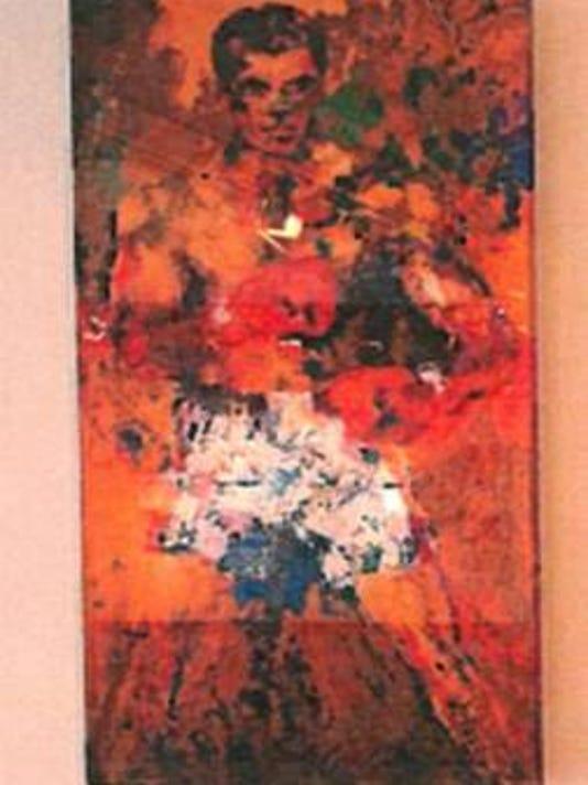 Stolen artwork