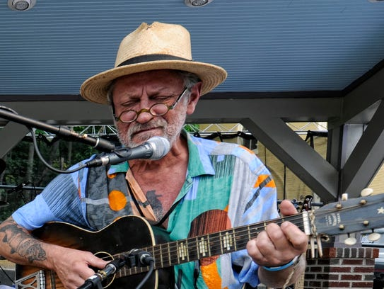 Little Lester on stage at last year's Shenandoah Valley