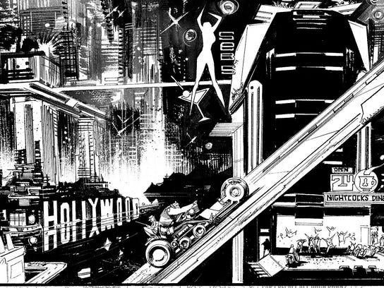 Tokyo Ghost panel