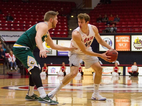 Dixie State's Josh Fuller was named to the CoSIDA Academic All-America Second Team for his performance both on and off the court. Fuller carries a 3.99 GPA in accounting, and is averaging 12.4 points and 5.9 rebounds this year for the Trailblazers.