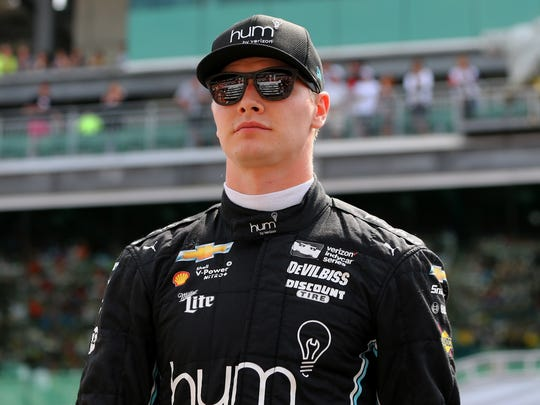 Josef Newgarden is the defending IndyCar champion.