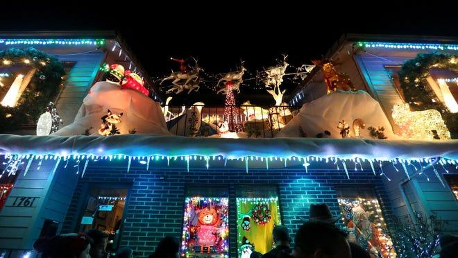 Lights at Gatti and Gatti Law in Salem are lit 5:30 to 8 p.m. Thursdays-Sundays through Dec. 23.