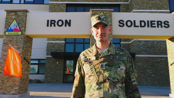 Command Sgt. Maj. Danny Day is the new senior enlisted soldier for Fort Bliss and the 1st Armored Division.