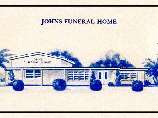 In 1968, the business was just Johns Funeral Home,