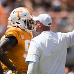 Tennessee Vols football spring game ends with Orange beating White 34-7