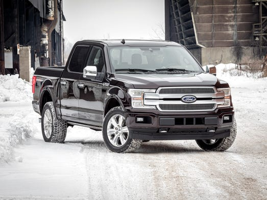The 2018 Ford F-150 arrives with new front and rear