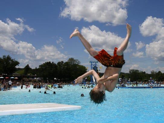 Sunlite Pool at Coney Island helped Cincinnati rank