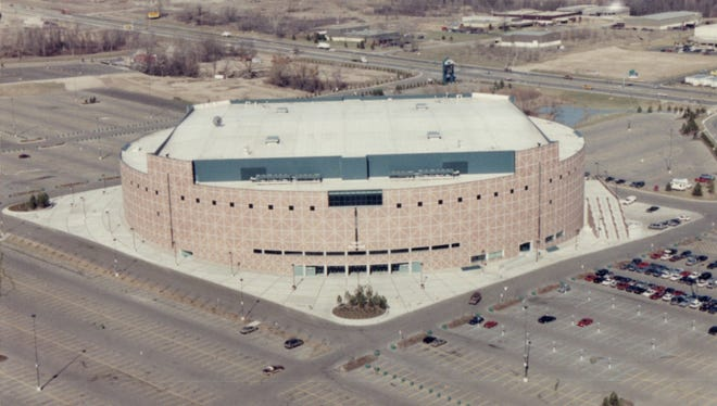 The Palace in Auburn Hills.