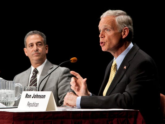 Ron Johnson, Sen. Russ Feingold