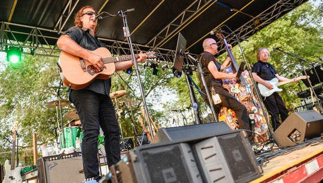 The Killer Vees take the stage during JoeTown ROCKS Church of St. Joseph Parish Festival Tuesday, July 3, 2018 in St. Joseph.