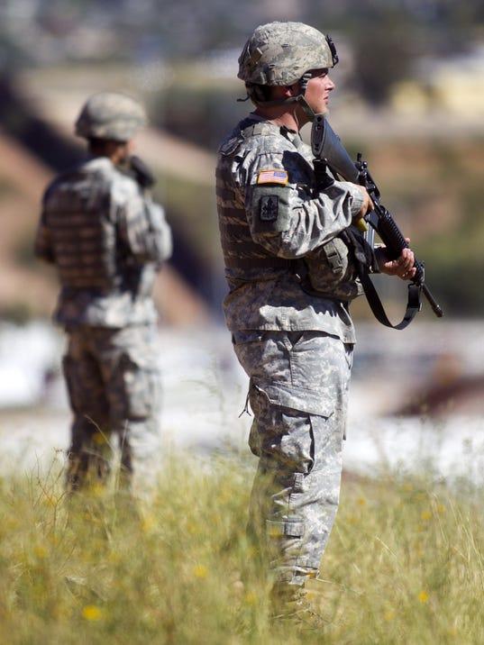 Arizona National Guardsmen