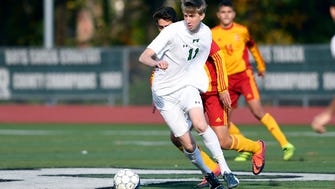 Pascack Valley's Michael Lin (11) was one of the most dangerous offensive players in North Jersey.